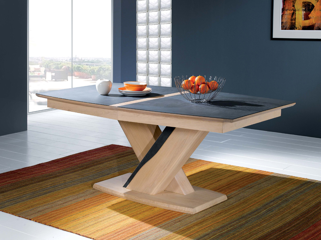 Table Ovale A Pied Central Emma Meubles Turone